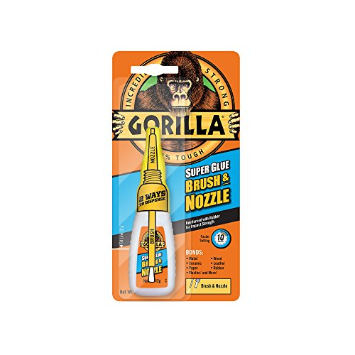 Gorilla Super Glue Brush & Nozzl...