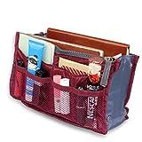 Tasche in der Tasche ROT Make-up Taschenorganizer Reise Kosmetik Tool...