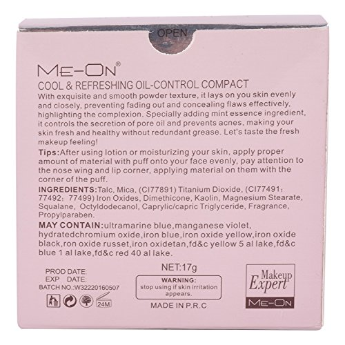 ME-ON Oil Control Powder - SPF 15, Ivory, 17 g