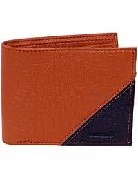 [Sponsored]YGREEN Tan & Black Synthetic Leather Men's Wallet
