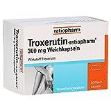 Troxerutin Ratiopharm 300 mg Weichkapseln 50St