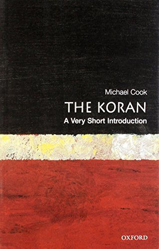 The Koran: A Very Short Introduction (Very Short Introductions) by Michael Cook (24-Feb-2000) Paperback