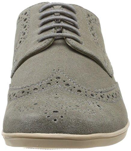 Base London Shore, Chaussures de ville homme Gris (Suede Grey)