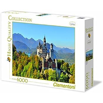 Clementoni Quot Castle Neuschwanstein Puzzle 6000 Piece