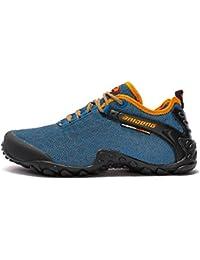 Showlovein - Zapatillas de pesca de Material Sintético para hombre, color gris, talla 40