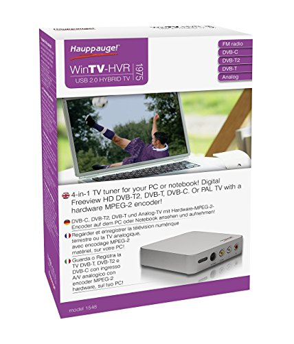 Hauppauge WinTV HVR-1975 TV-Receiver - Atsc, Analog-tv-tuner