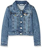 NAME IT Mädchen Jacke NKFESA DNM 2036 Jacket NOOS, Blau Medium Blue Denim, 116