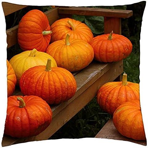 PUMPKIN - Autumn harvest - Throw Pillow Cover Case (18