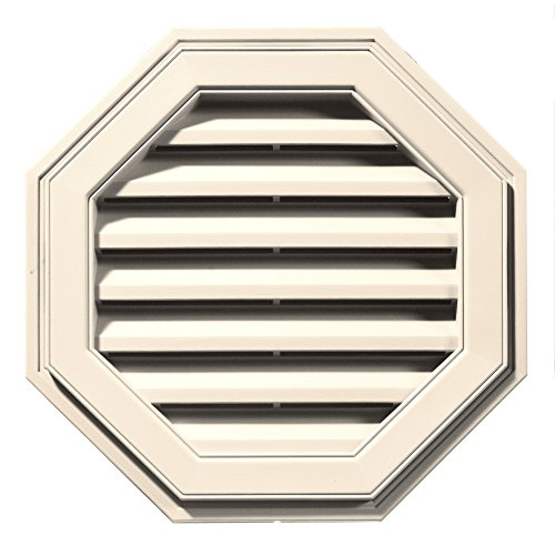 55,9cm W x 55,9cm H Octagon Giebel breitstrahlendes Aluminiumraster Vent, 54SQ. Zoll Vent Bereich, 120012222021