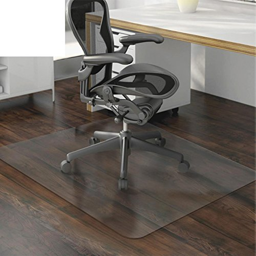 OSJCYASBZ PVC-transparent Matte Computer-Stuhl-Matte drehstuhl beschützer fußmatten Wood Floor Protector Teppich transparent Matte-A 80x120cm(31x47inch)