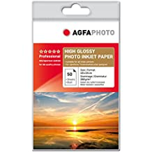 AgfaPhoto AP26050A6 - Papel fotográfico (265 ± 12, 29 ± 5, 260 g, 50 hojas)