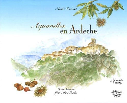 Aquarelles en Ardèche