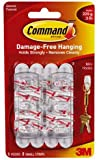 Command Mini Hooks with Command Strips (17006)