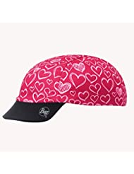 Buff Pink Love - Gorra de ciclismo para niña