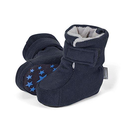 Sterntaler Baby Jungen Krabbelschuhe, Blau (Marine 300), 18 EU