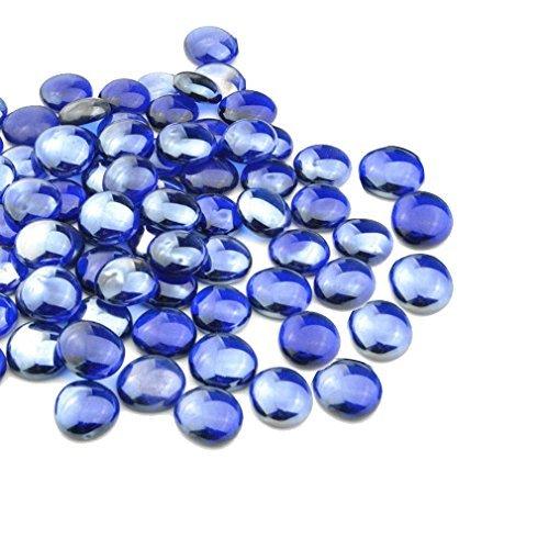 Mr. Fireglass 1/5,1cm Fire-Drops mit Kamin und Fire Pit, 10Lb, Royal Kobalt Blau -