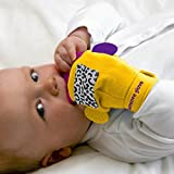 Brand new Gummee Glove with heart-shaped silicone teething ring Bild 1