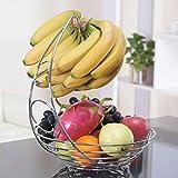 Generic dyhp-a10-code-5854-class-1-- soporte gancho naranja Ange almacenamiento cuenco cesta Baske de nuevo cromo frutas Banana percha árbol un han soporte frutas Roma Ba–-dyhp-uk10–160819–3816