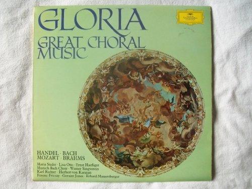 643 207 VARIOUS ARTISTS Gloria Great Choral Music vinyl LP