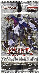 Konami TCG187 -sobre de Cartas del Juego Yugi Victorias Brillantes, Modelos Surtidos versión Italiana