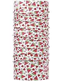 BUFF ENFANT Foulard multifonctionnel haute protection UV LITTLE FRUITS, white/red, Gr.50-55