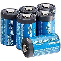 AmazonBasics Piles lithium CR2 3V, Lot de 6