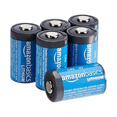 Oferta de Amazon Basics - Pilas de litio CR2 de 3 V, Pack de 6
