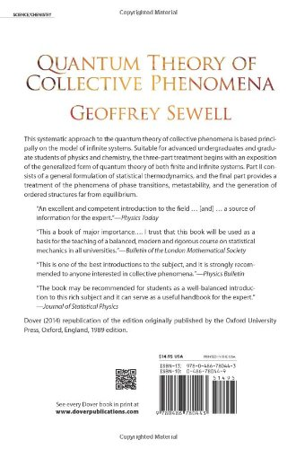 Quantum Theory of Collective Phenomena (Dover Books on Chemistry)