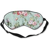 Comfortable Sleep Eyes Masks Simple Flower Pattern Sleeping Mask For Travelling, Night Noon Nap, Mediation Or... preisvergleich bei billige-tabletten.eu