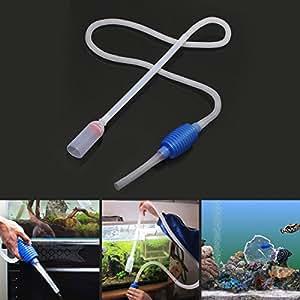 Generic dyhp-a10-code-5070-class-1-- Sifone pompa filtro R Acqua Sifone su si 1.7M Acquario Pesci L serbatoio pulito vuoto SH ta Gravel Cleaner quarium–-dyhp-uk10–160819–3097