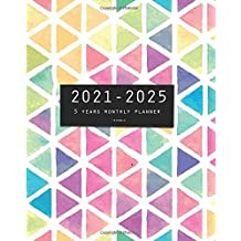 2021-2025 Five Years Monthly Planner-Triangle: 60 Months Yearly Planner and Calendar, Agenda Schedule Organizer Logbook and Appointment Notebook with Federal Holidays