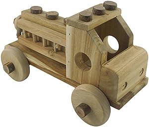 Lichee Toys 105000-Camión de Bomberos para niños pequeños