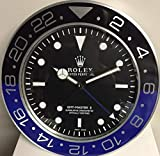 replica Rolex 35 cm de Pared GMT II Master Batman Metal Movimiento SILENCIOSO + 2 CD de Audio Regalo