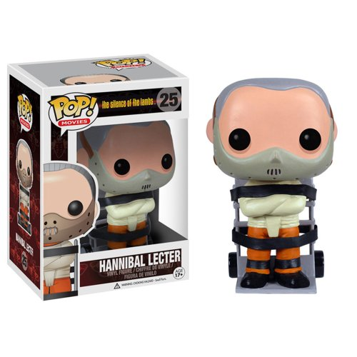 POP! VINILO   MOVIES: HANNIBAL LECTER