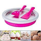 Sue Supply DIY - Mini sartén de hielo frito para casa o yogurt, máquina de frutas, helado, huevo, rollo de marcador