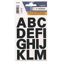 Letras Transferibles A - Z. 25 mm. negro Herma