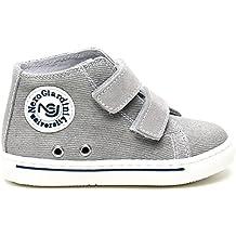 Nero Giardini J. Sneaker Primi Passi BIMO A Strappo col. Grigio Coll.NE 5645226cc75