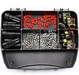 SET 9 AMP Superseal Set 1,50 2,5 2-polig Kfz Steckverbinder Elektrik KFZ Stecker