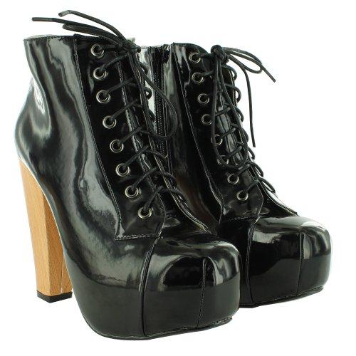 Footwear Sensation ,  Damen Plateau Schwarz