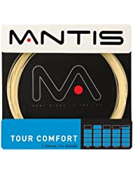 Nuevo MANTIS Tour comodidad Nylon 16G 200m cuerda para raqueta de tenis, rojo