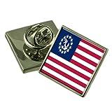 Yachtcharter, der Stern der USA-Flagge Ehrennadel Abzeichen Tasche