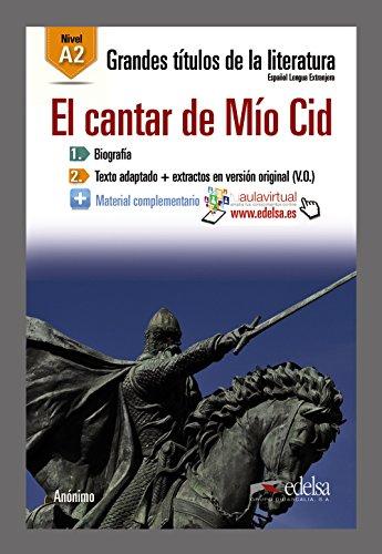 GTL B1 - El cantar de Mío Cid (Lecturas - Jóvenes Y Adultos - Grandes Títulos De La Literatura - Nivel B1)