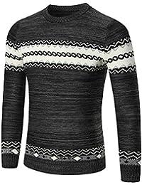 VENMO Herren Pullover Herbst Winter Pullover Slim Fit Pullover Outwear  Sweatshirt Pulli Sweats Strickjacke Langarmshirt Long 0aeaf5e736