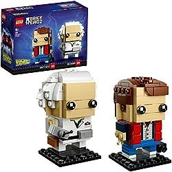 Lego Brickheadz - Marty Mcfly e Doc Brown Set Costruzioni, 41611