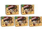 Gingen - Thai Ingwertee-Getränk mit Kandiszucker - je 12 Instant Sachets - 5er Pack (5 x 204g)