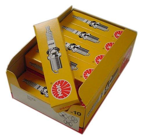 confezione da 10 NGK CANDELE - RICAMBIO N° BKUR6ET-10 - Serie n° 2397 - 10 pezz