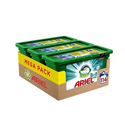 (Ariel 3in1mit Febreze Waschen Kapseln 114Wäschen–Pack von 3)