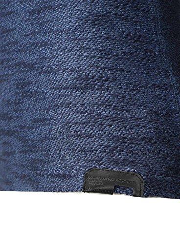 Key Largo Herren Pullover THUNDER Oversize Strickpullover Look Dunkelblau