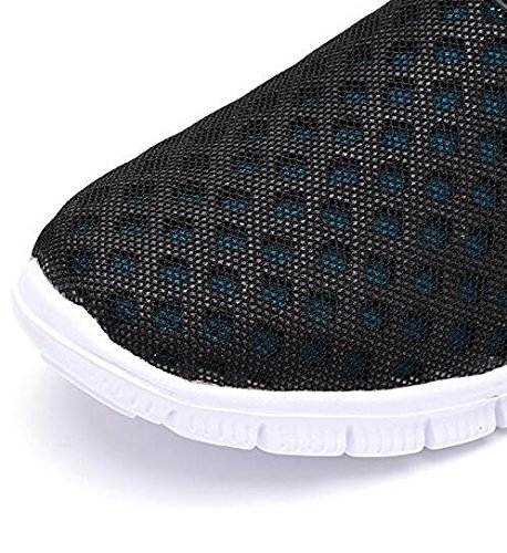 BAINASIQI Unisex Clogs Hausschuhe Pantoletten Sandalen Muffin unten Strand Schuhe Blau