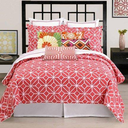 trina-turk-bedding-palm-springs-coral-white-king-sheet-set-by-trina-turk